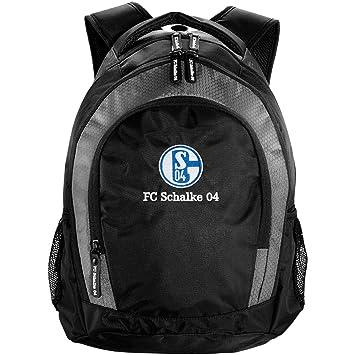 ac548e0b2af61 FC Schalke 04 Rucksack   Backpack - Carbon-Optik S04  Amazon.de ...