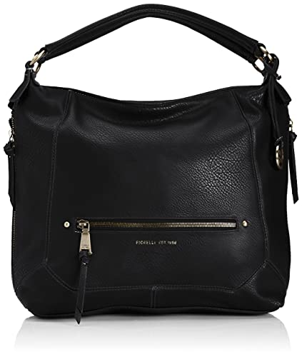 8f09e62f838a Fiorelli Womens Lauren Scoop Shoulder Bag FH8292 Black  Amazon.co.uk ...