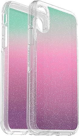 Otterbox Symmetry Clear Hoch Transparente Regebogenfarbige Mit Glitter Sturzsichere Schutzhülle Für Iphone X Xs Gradient Energy Elektronik