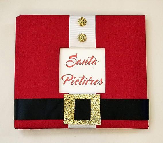 santa pictures memory book photos scrapbook album christmas memories every year - Christmas Memories Book