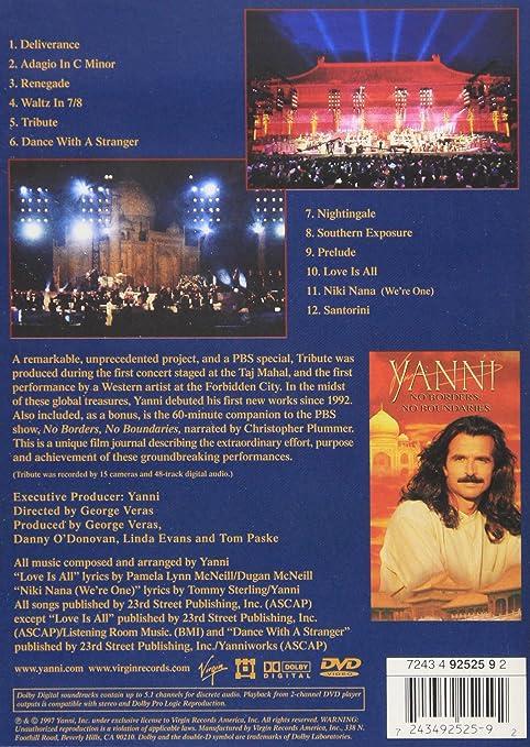 Amazon com: Yanni - Tribute: Christopher Plummer, Yanni: Movies & TV