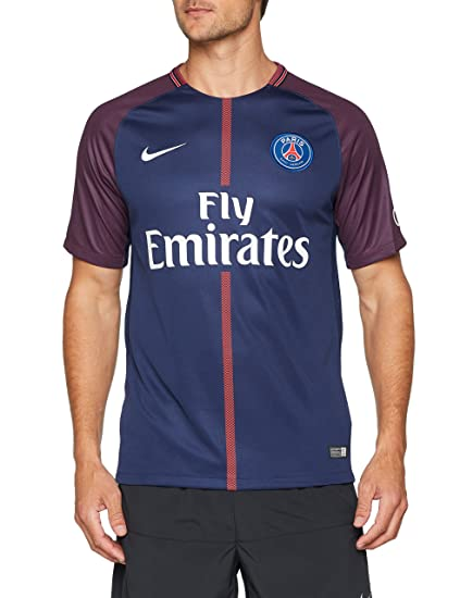 best cheap 69da2 54674 2017-2018 PSG Home Nike Football Shirt