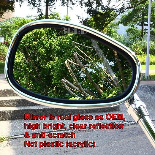 Motorcycle rear view mirrors YAMAHA Vmax Virago 535 V-Star 650 1100 1300 Warrior