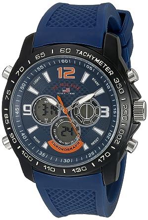 U.S. Polo Assn. Sport Mens US9557 Analog-Digital Blue Watch