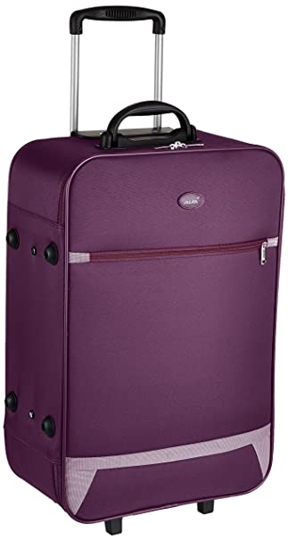 Alfa Polyester 19 cms Purple Softsided Check-in Luggage (STVOL65PPL)