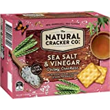 Natural Cracker Co. Sea Salt and Vinegar Crispy Crackers, 16 x 160g