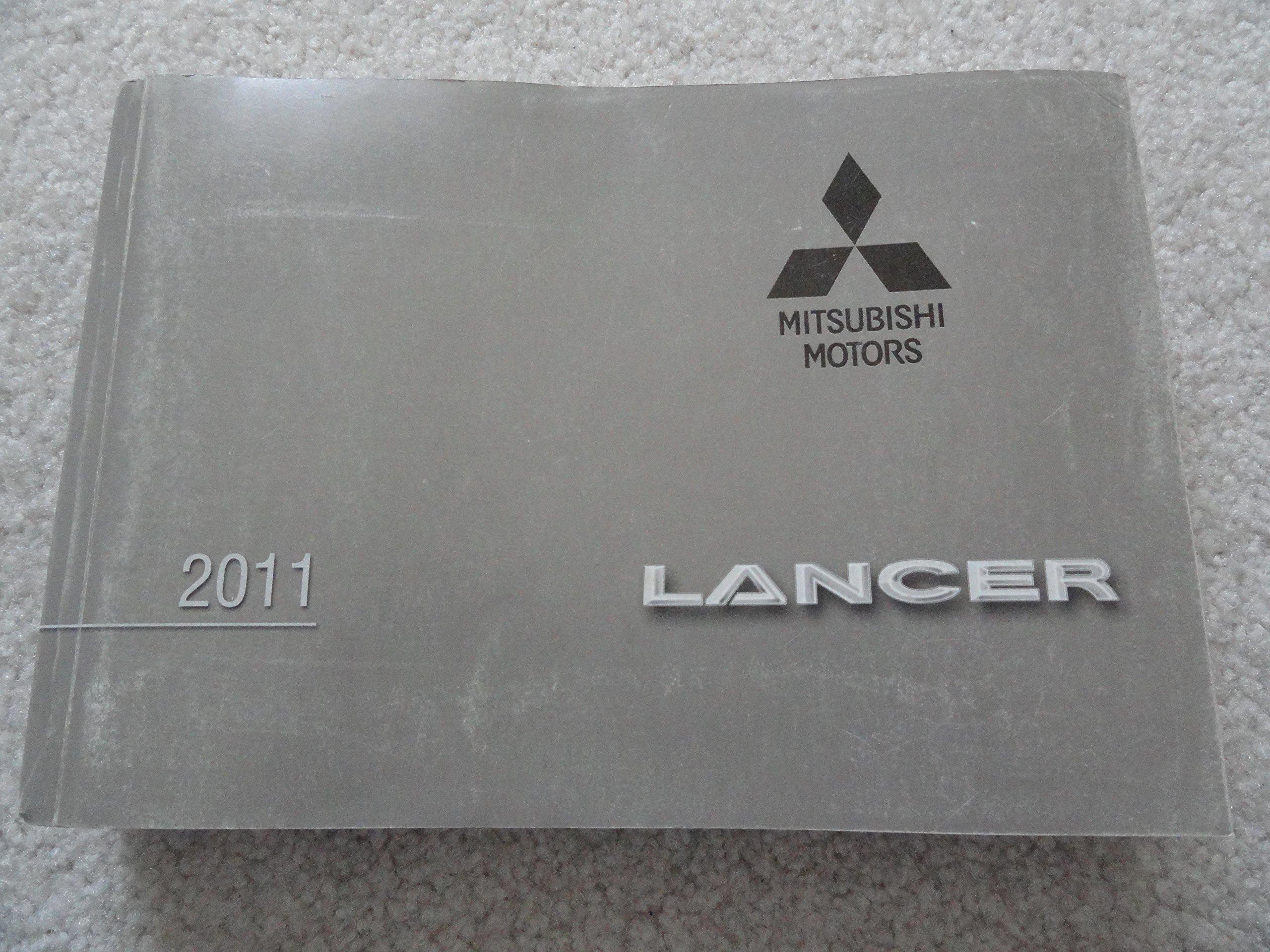 manual mitsubishi lancer 2011