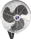 Q Standard Oscillating Wall-Mount Fan, 14In