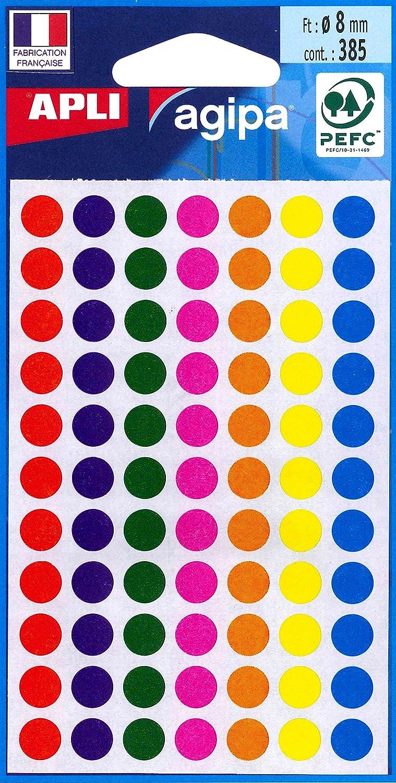 violett agipa Markierungspunkte Durchmesser: 15 mm rund