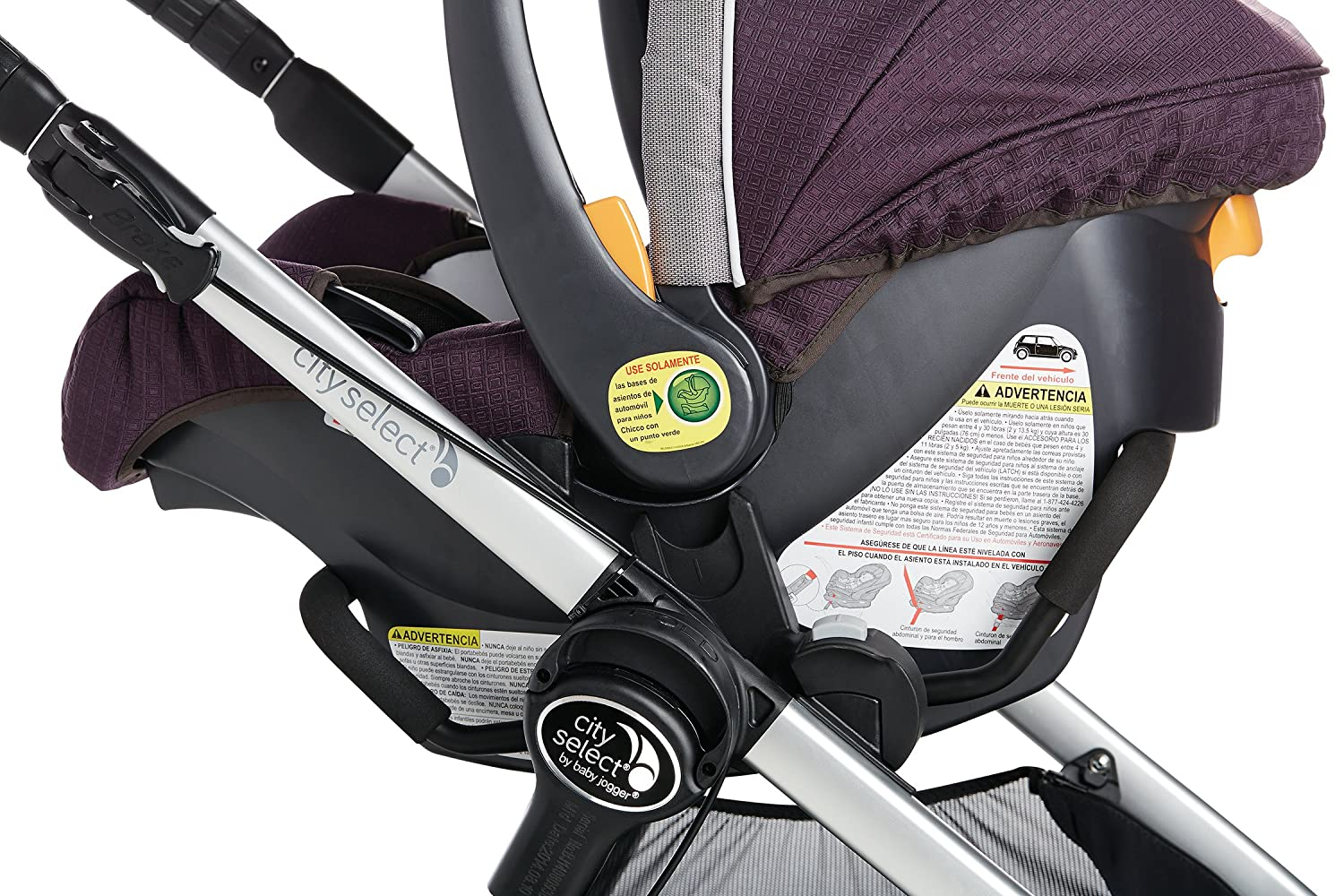 Amazon.com : Baby Jogger Car Seat Adapter (city select, city select