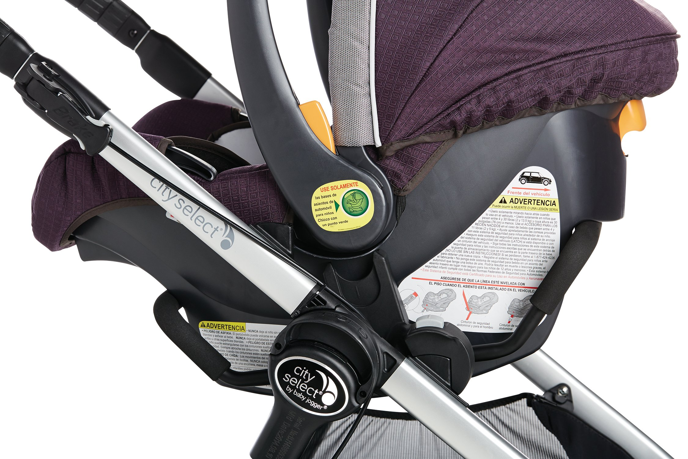 Baby Jogger Car Seat Adapter (city select, city select LUX, city premier) for Chicco / Peg Perego by Baby Jogger (Image #2)