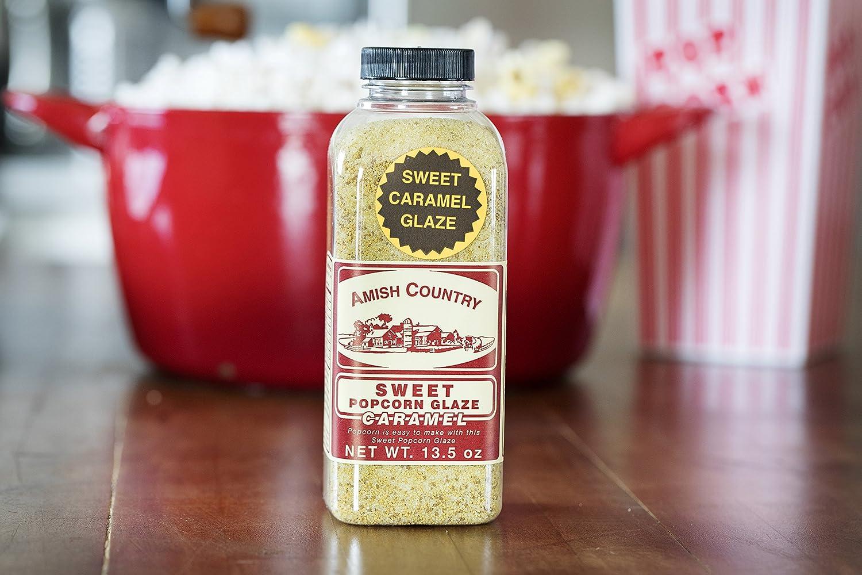 Amish Country Popcorn – Esmalte de caramelo dulce – 13,5 oz ...