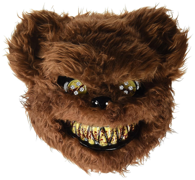 Máscara de oso loco sangriento