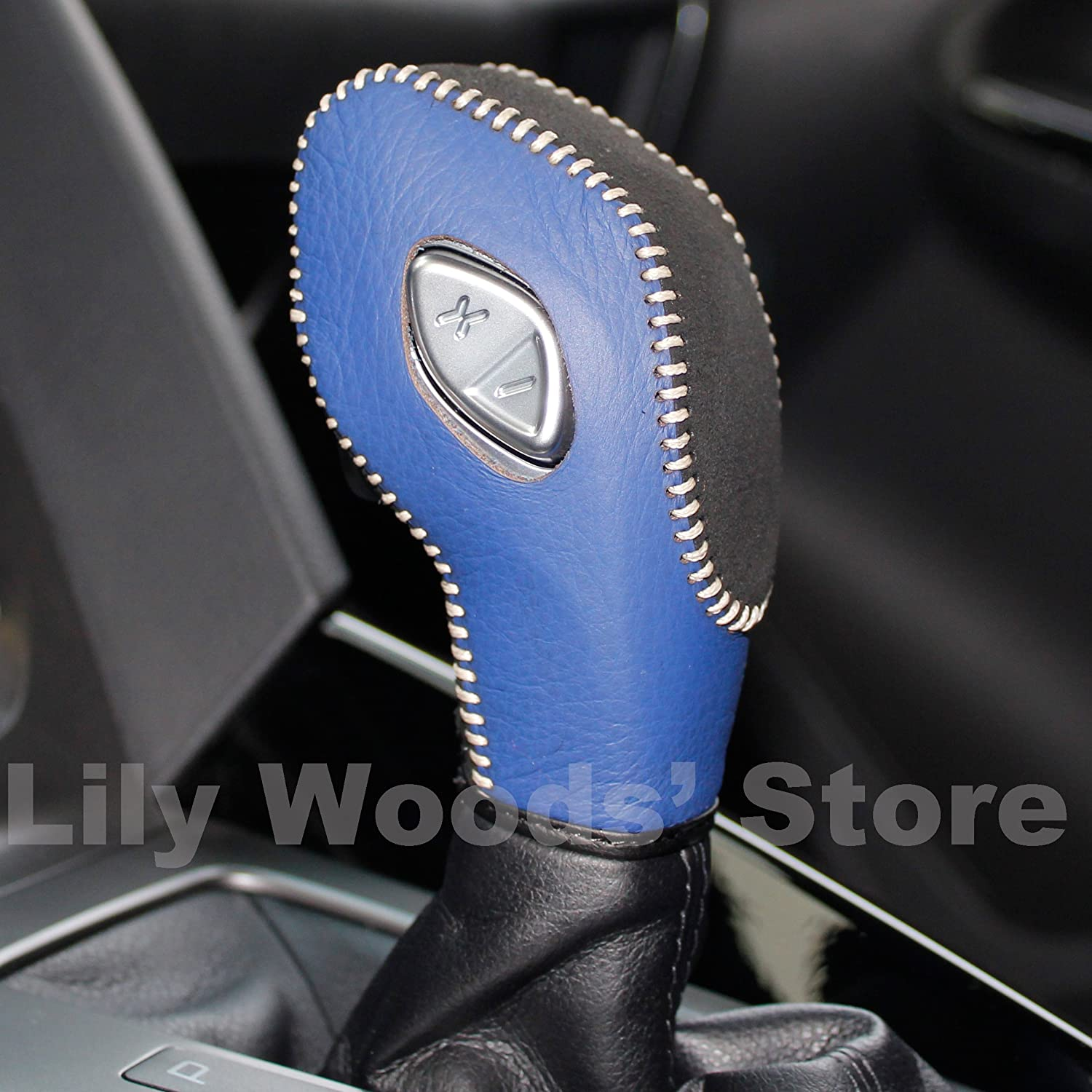 2013 2014 2015 2 2013 2014 2015 2016 Ford Fusion S,Ford Fusion SE JI Black Genuine Leather Gear Shift Knob Cover for 2012 2013 2014 2015 2016 Ford Focus 2014 2015 2016 Ford Fiesta