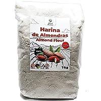 Harina de Almedras 1Kg – Ideal para Reposteria – Sin Gluten – 100 % Natural y de Origen Nacional – No Transgenica…
