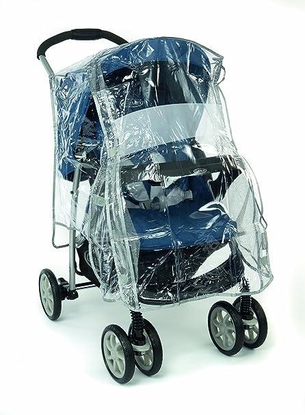 Graco GAT041E - Plástico de lluvia universal transparente para silla