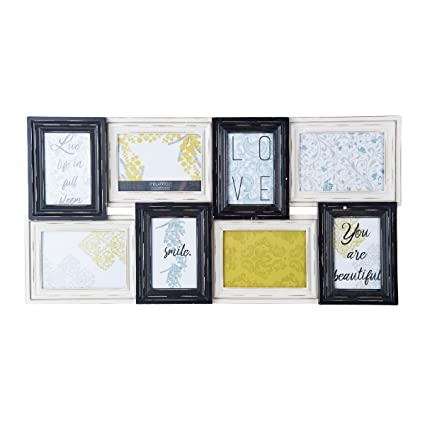 Amazon.com - MELANNCO 8-Opening Wall Mount Collage Picture Frame -