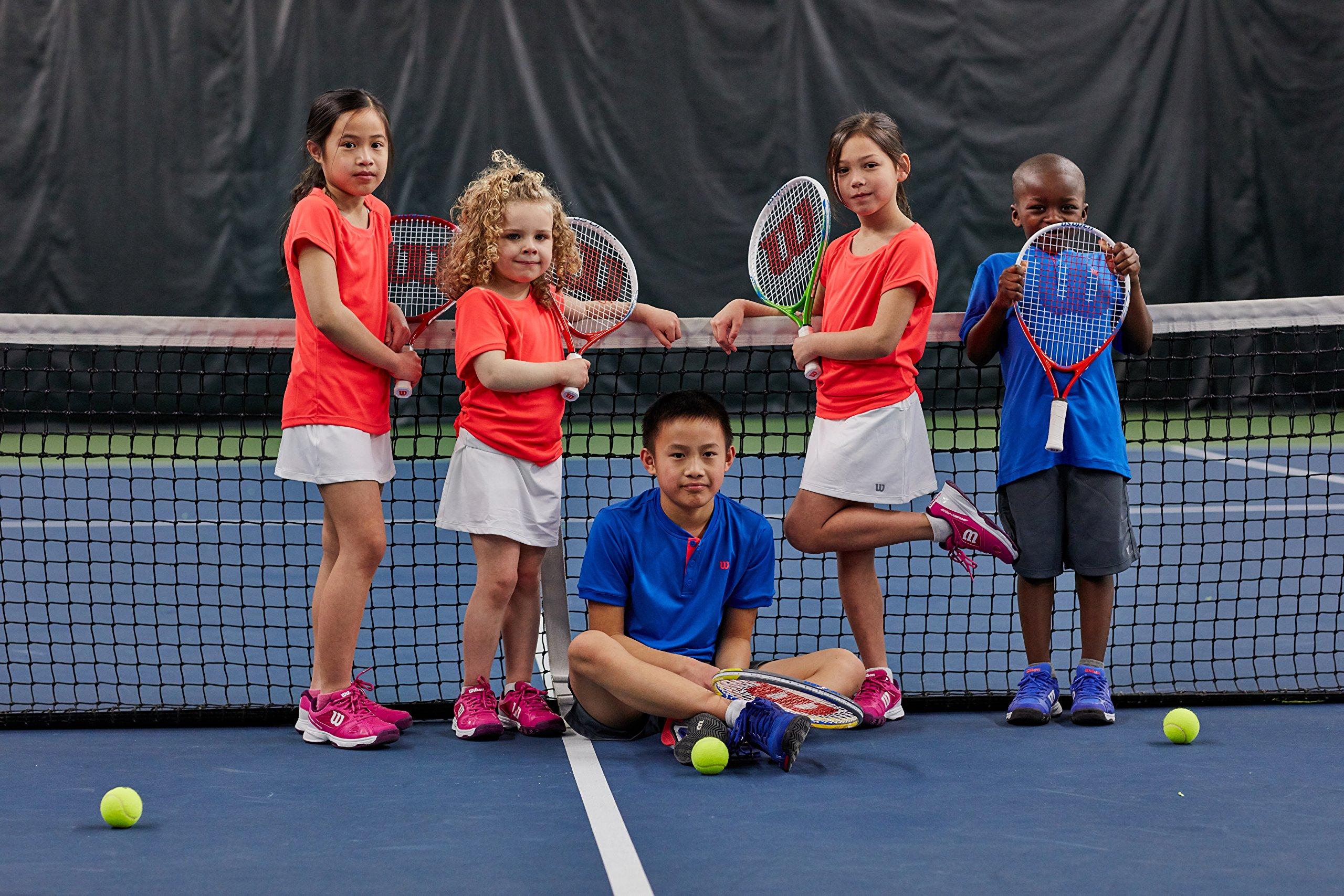 Wilson 55064 Junior US Open Tennis Racquet, 19'' L by Wilson (Image #3)