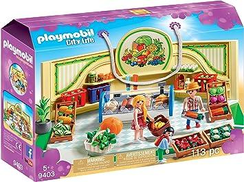 Playmobil Tienda de Frutas y Verduras Juguete geobra Brandstätter 9403: Playmobil: Amazon.es: Juguetes y juegos