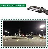 Hykolity 200W LED Shoebox Outdoor Commerical Pole
