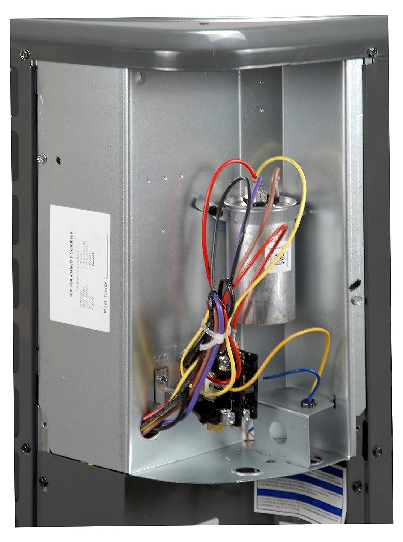 Goodman 3 Ton 16 Seer Air Conditioner R 410a Gsx160361 Home Ac Condenser Fan Wiring Kitchen