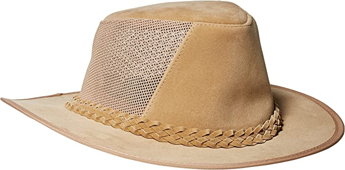 Men/'s Soaker Hat with Mesh Sides Dorfman Pacific Co