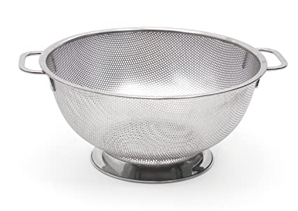 Chef Craft Microperforated Stainless Steel Colander 5 Quart