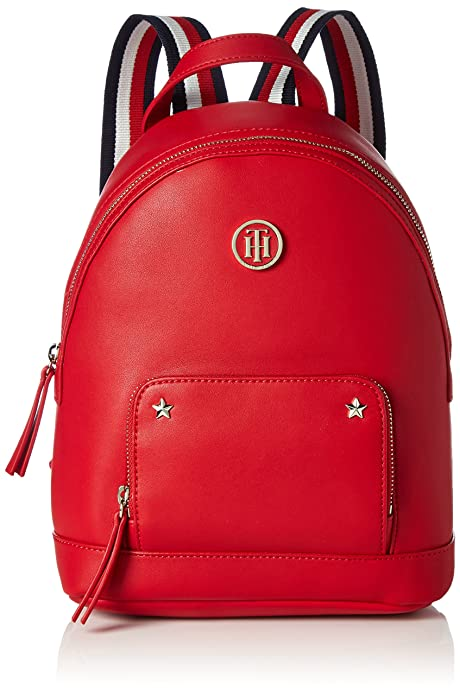 e74ec125e Tommy Hilfiger - Youthful Novelty Backpack, Bolsos mochila Mujer, Rot (Tommy  Red)