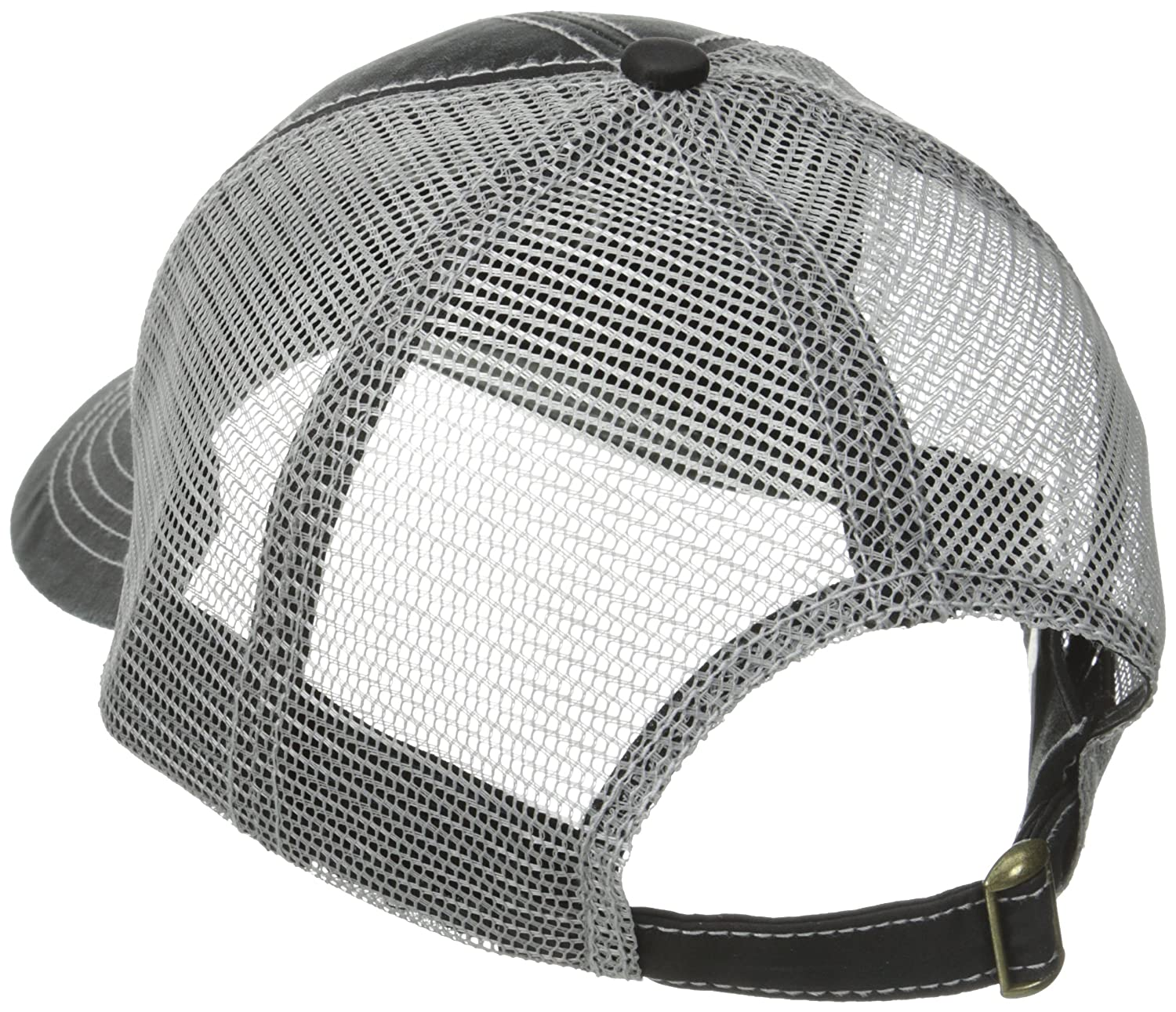 a0cacde469789 Amazon.com  Justin Boots Men s Cotton Twill Oil Cloth Ball Cap with Mesh  Back