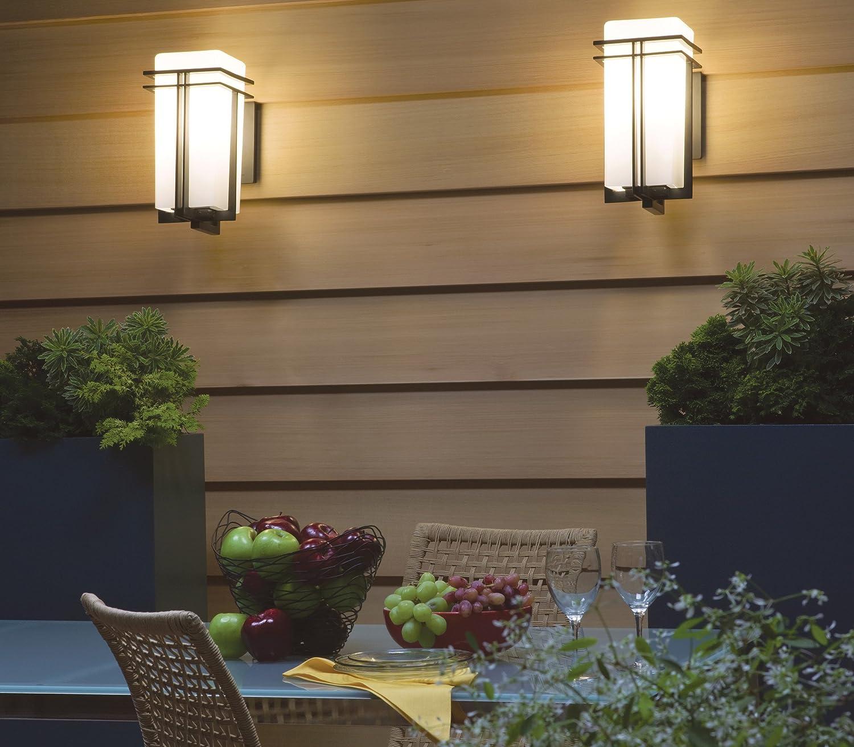 Amazon.com: Kichler lighting tremillo linterna luz de pared ...