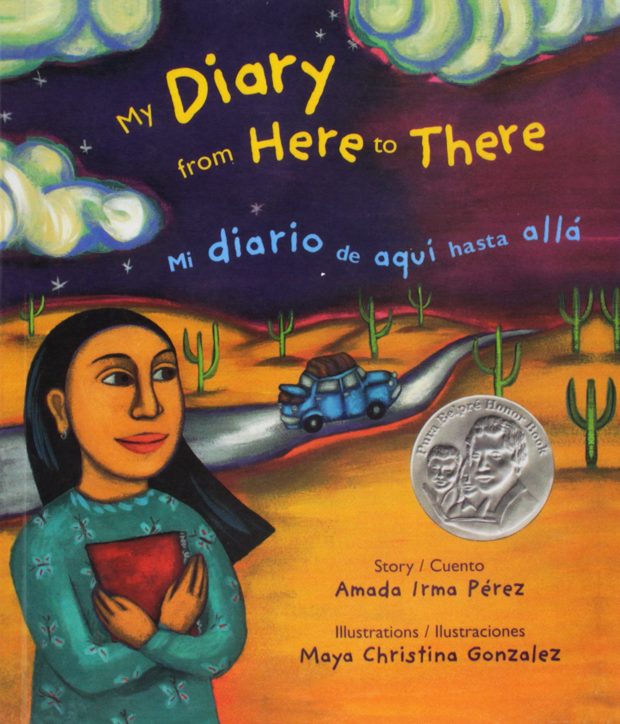Read Online Mi Diario de Aqui Hasta Alla/My Diary from Here to There (English and Spanish Edition) PDF