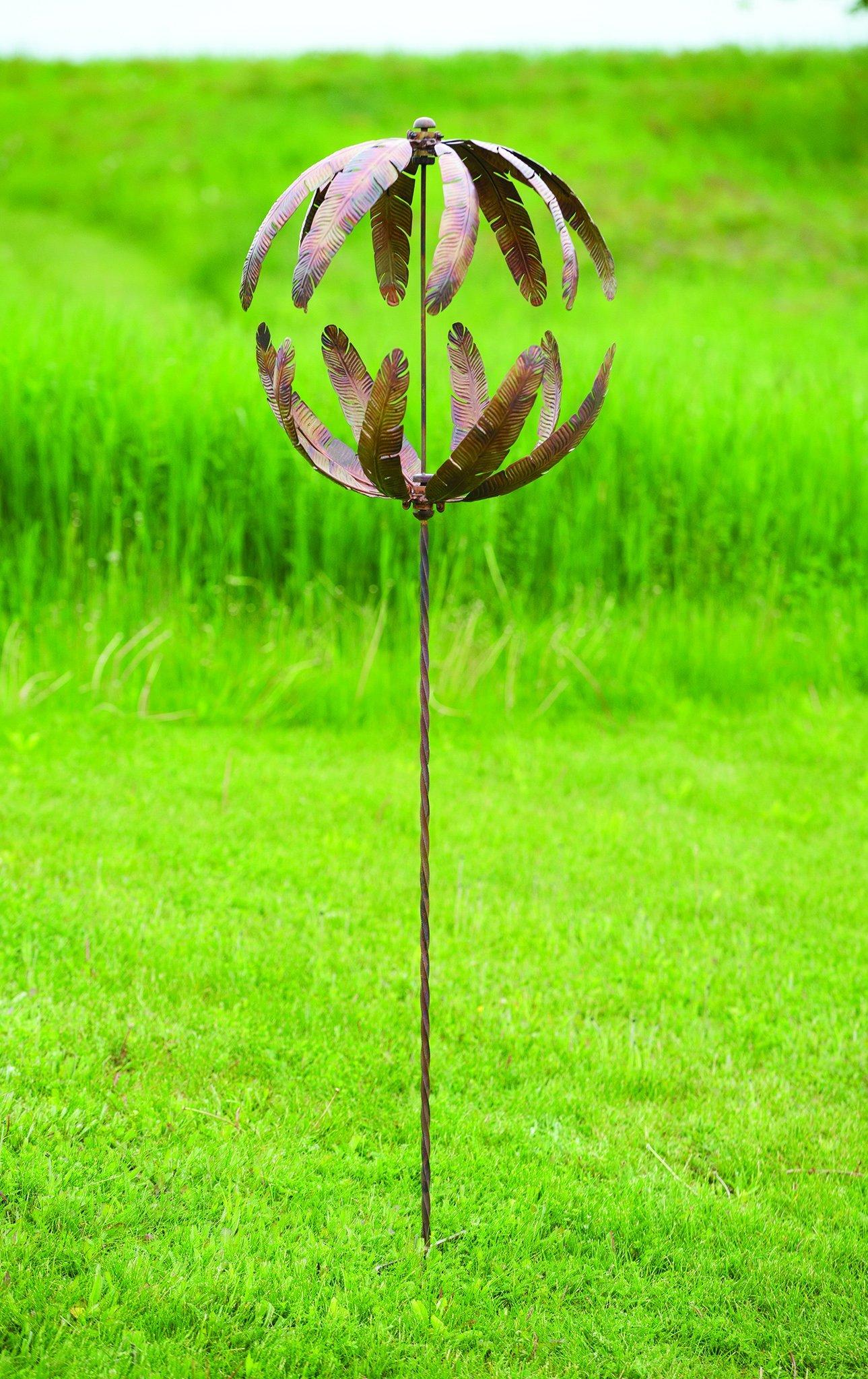 Happy Gardens 20'' Flower Globe Spinner