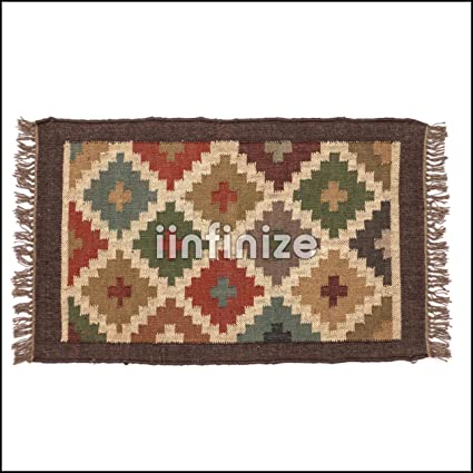 Amazon.com: Indian Jute Rustic Yoga Mat Yoga Carpet Yoga ...
