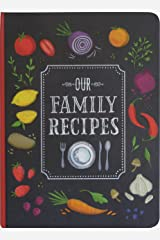 Our Family Recipes Journal Diary