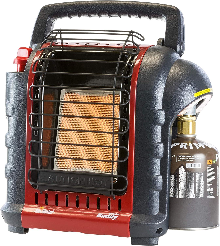 MR HEATER Portable Buddy Calefacción de Gas, Unisex Adulto, Rojo, M