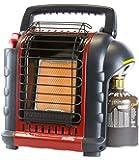 Mr. Heater Portable Buddy Riscaldamento a Gas Incluso Adattatore per bombole di Gas con Filettatura 7/16