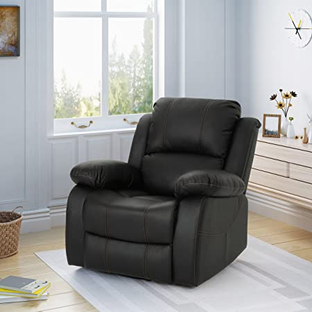 Christopher Knight Home 304390 Lilith Gliding Swivel Recliner, Black