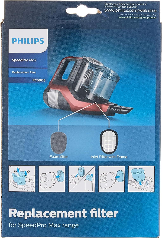 Philips Kit de repuestos FC5005/01 Bolsas para aspiradora Speed ...