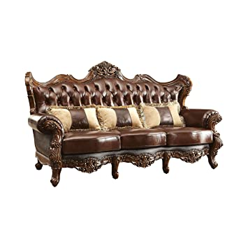 Amazon.com: 247SHOPATHOME IDF-6786-SF Ragnilde Tufted Sofa ...