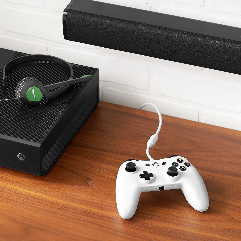Amazon com: AmazonBasics Xbox One Wired Controller: Video Games