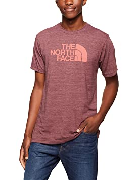 f9855521 The North Face Men's S & S Half Dome Tri- Blend Tee - Sequoia Red ...