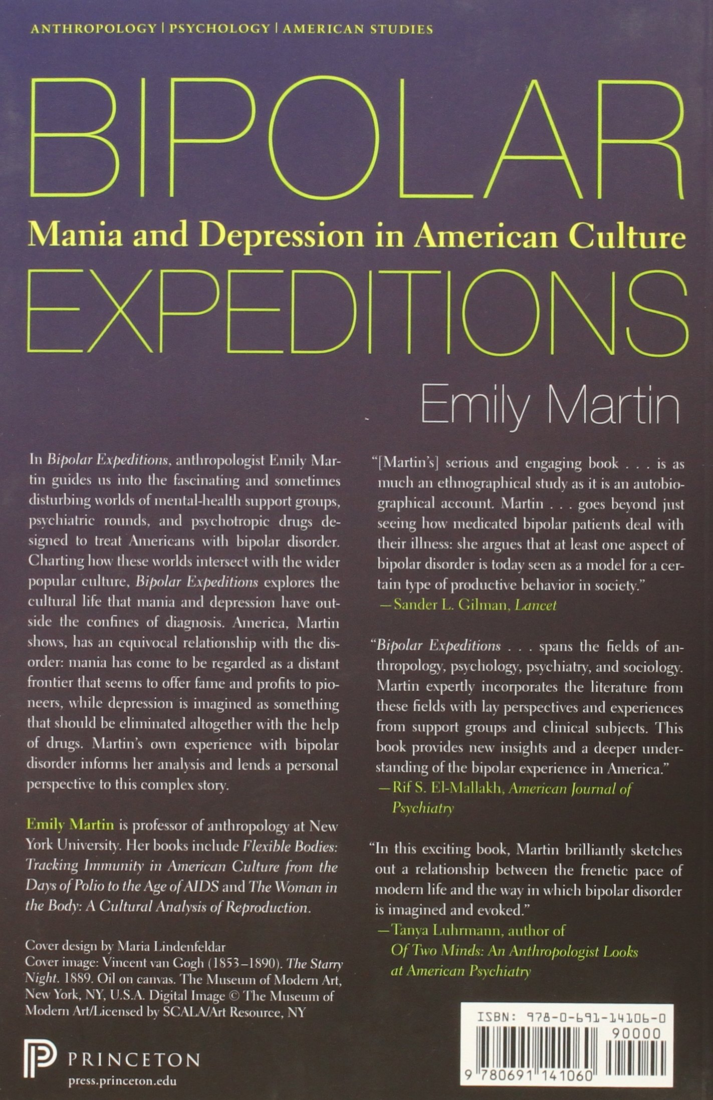 Bipolar Expeditions: Mania and Depression in American Culture: Emily  Martin: 9780691141060: Amazon.com: Books