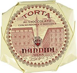 Pasticcerie Nannini Torta al Cioccolato con Mandorle e Nocciole - 450 G