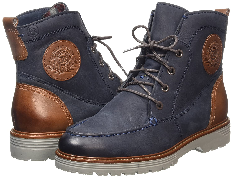... Jana 26201 Damen Combat Stiefel )) Blau (Blau (Navy 805 )) Stiefel ... 25056e2c26