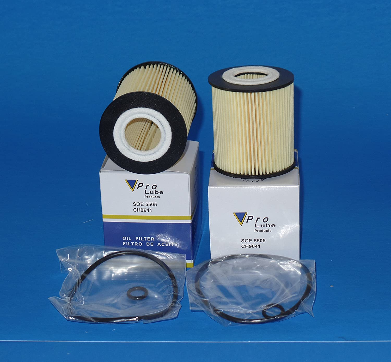 Amazon com: L15505 / SOE5505 Engine Oil Filter Fits:FORD