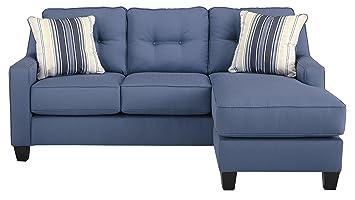 Amazon.com: benchcraft aldie sofá Chaise en azul – 6870318 ...