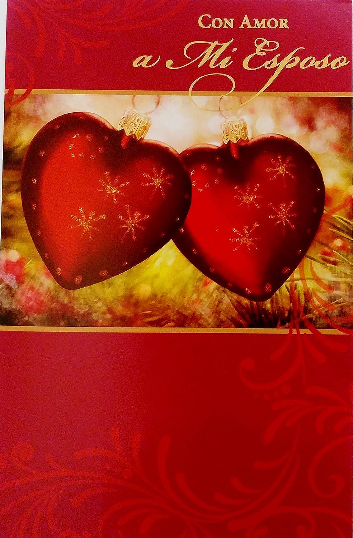 Christmas Wishes In Spanish.Amazon Com Con Amor A Mi Esposo Feliz Navidad Merry