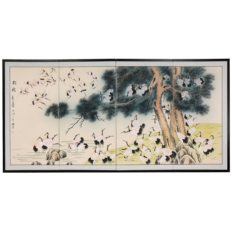 Oriental Furniture 36 Hundred Cranes