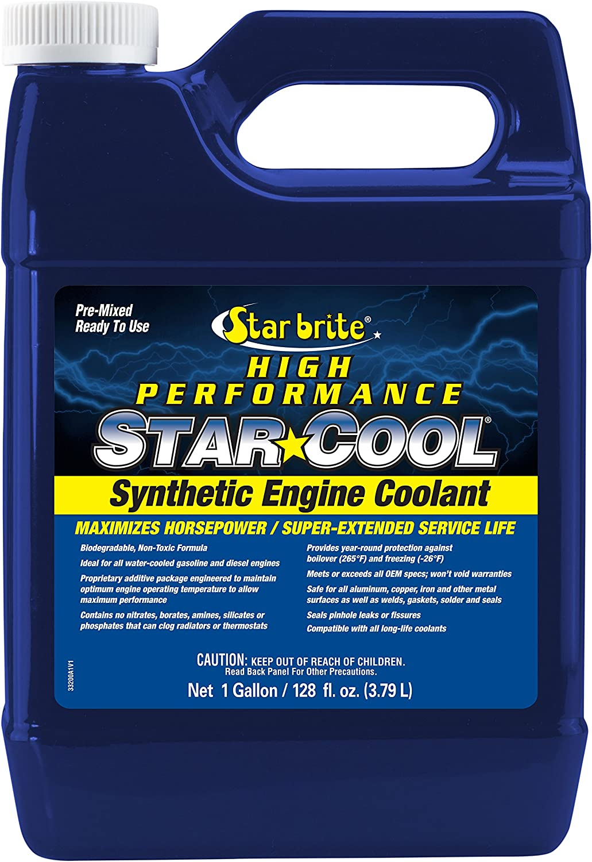 STAR BRITE Star-Cool Premium Synthetic PG Engine Coolant - 1 Gallon