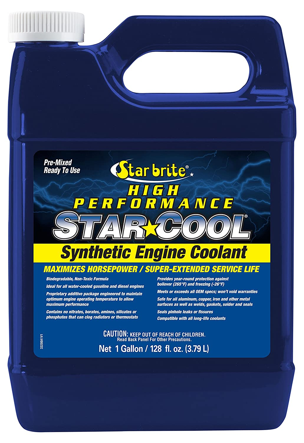 Star Brite Star-Cool Premium Synthetic Engine Coolant